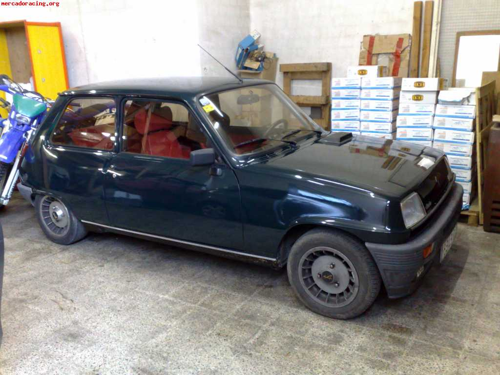 vendo renault 5 alpine turbo venta de veh culos y coches cl sicos. Black Bedroom Furniture Sets. Home Design Ideas