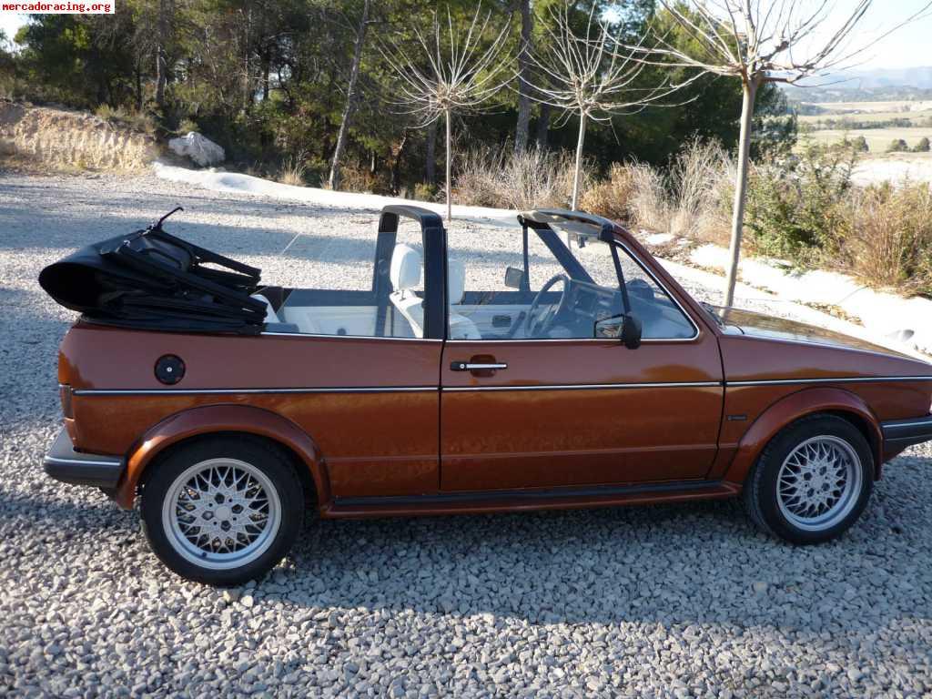 volskwagen golf cabriolet karman de 1981 venta de veh culos y coches cl sicos. Black Bedroom Furniture Sets. Home Design Ideas