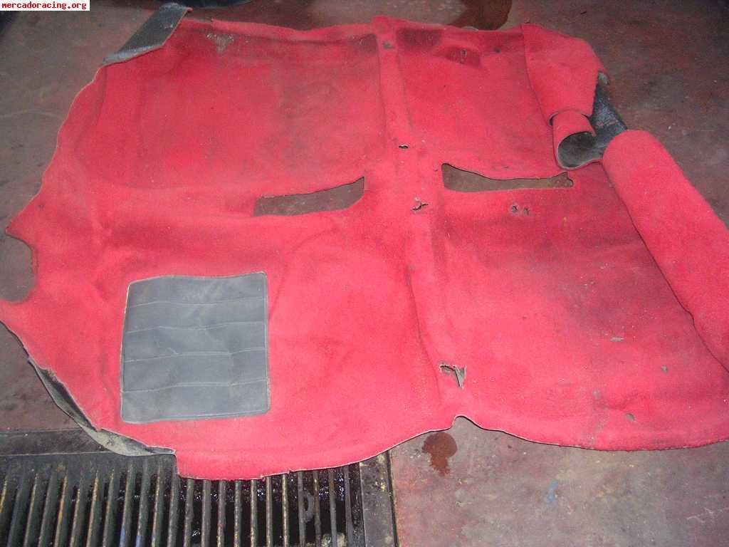 Moqueta roja 205 rallye 100 euros - Moqueta para ninos ...