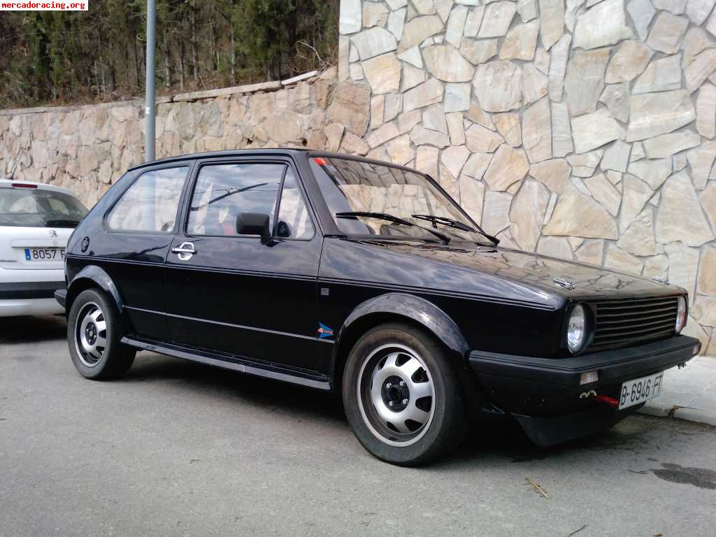 vw golf gti mk1 1 8. Black Bedroom Furniture Sets. Home Design Ideas