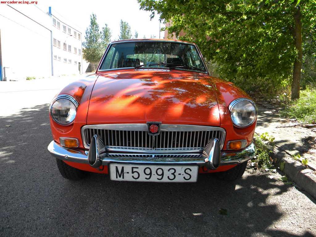 Clasico mg b gt 1973 venta de veh culos y coches cl sicos for Mercado racing clasicos