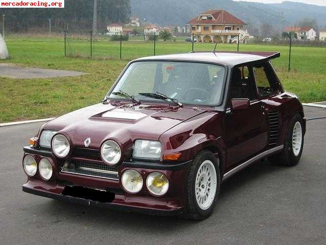 renault 5 turbo 2 impresionante. Black Bedroom Furniture Sets. Home Design Ideas