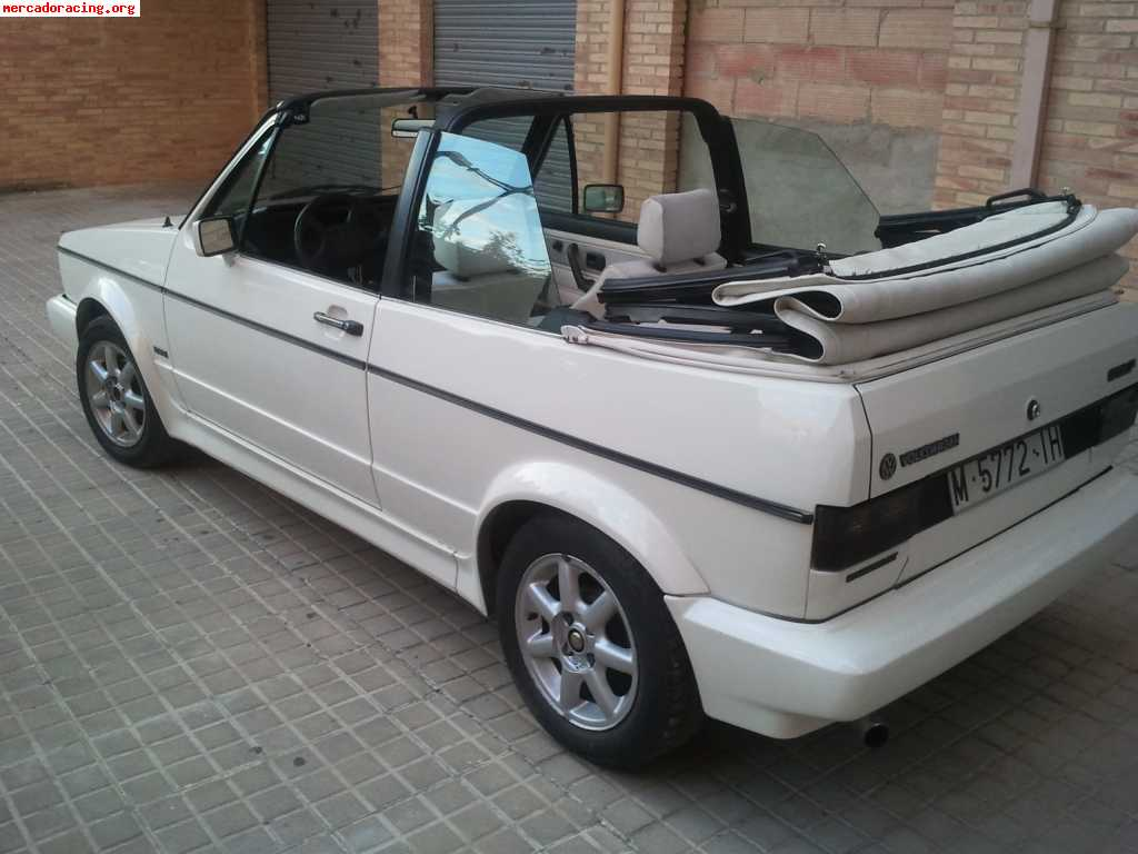vendo o cambio golf mk1 cabrio 112cv del 87. Black Bedroom Furniture Sets. Home Design Ideas