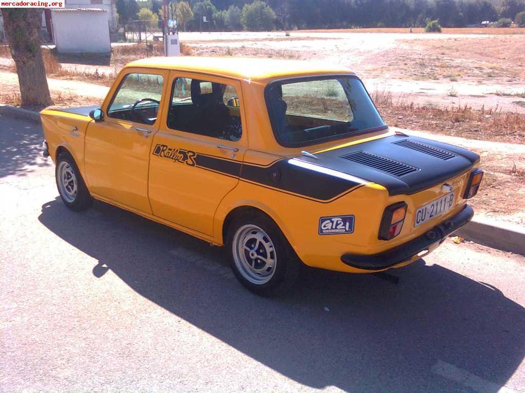 Vendo Simca 1000 Replica Rallye