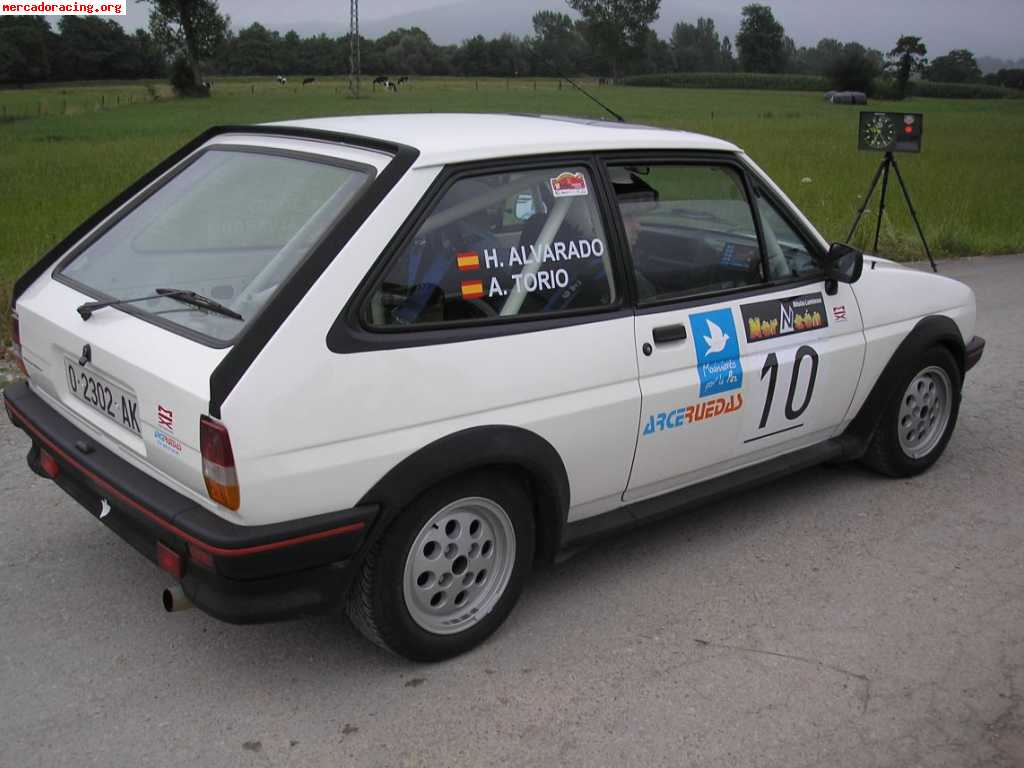 Vendo Ford Fiesta Xr2 Mkii 1600 Rallyes Regularidad