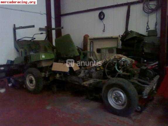 despiece de land rover santana 109 especial