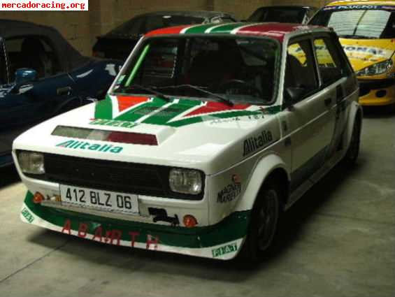 vendo fiat 127 abarth alitalia ex gounon. Black Bedroom Furniture Sets. Home Design Ideas