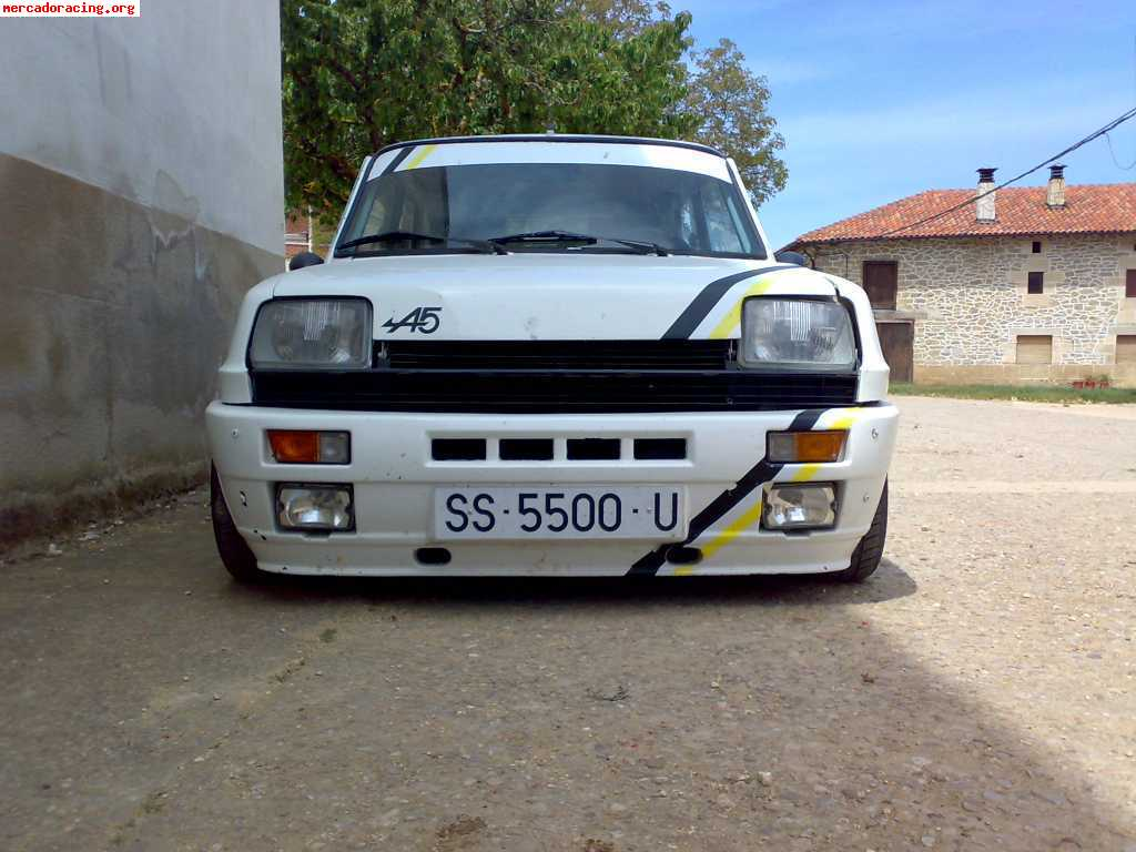 se vende renault 5 alpine turbo 3900 euros. Black Bedroom Furniture Sets. Home Design Ideas