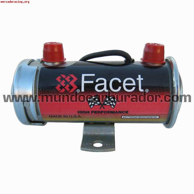 Bomba Gasolina Electrica Facet 477060 E Venta De
