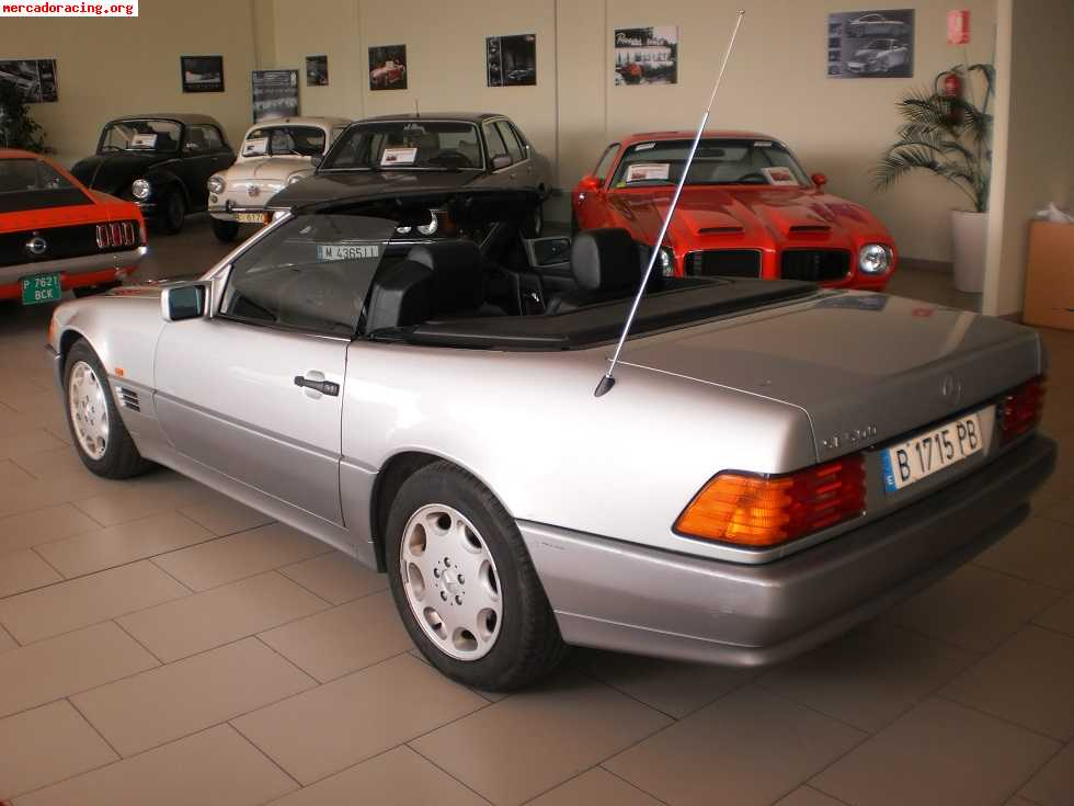 mercedes sl 500 cabrio 5 0 v8 a o 1994 venta de veh culos y coches cl sicos. Black Bedroom Furniture Sets. Home Design Ideas