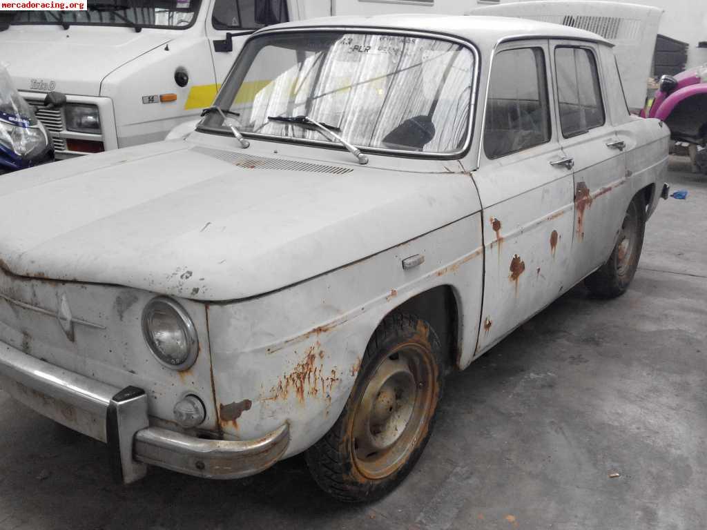 Se vende renault r8 para restaurar o preparar venta de - Clasico para restaurar ...