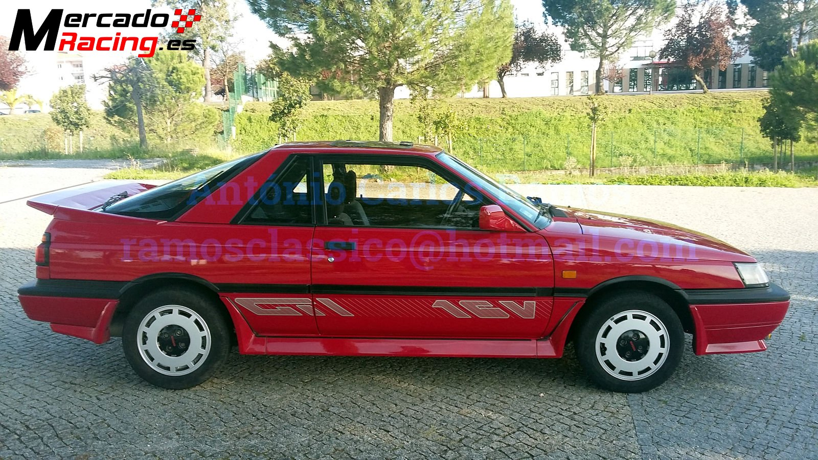 Nissan Sunny Gti Coupe Rz1 1989