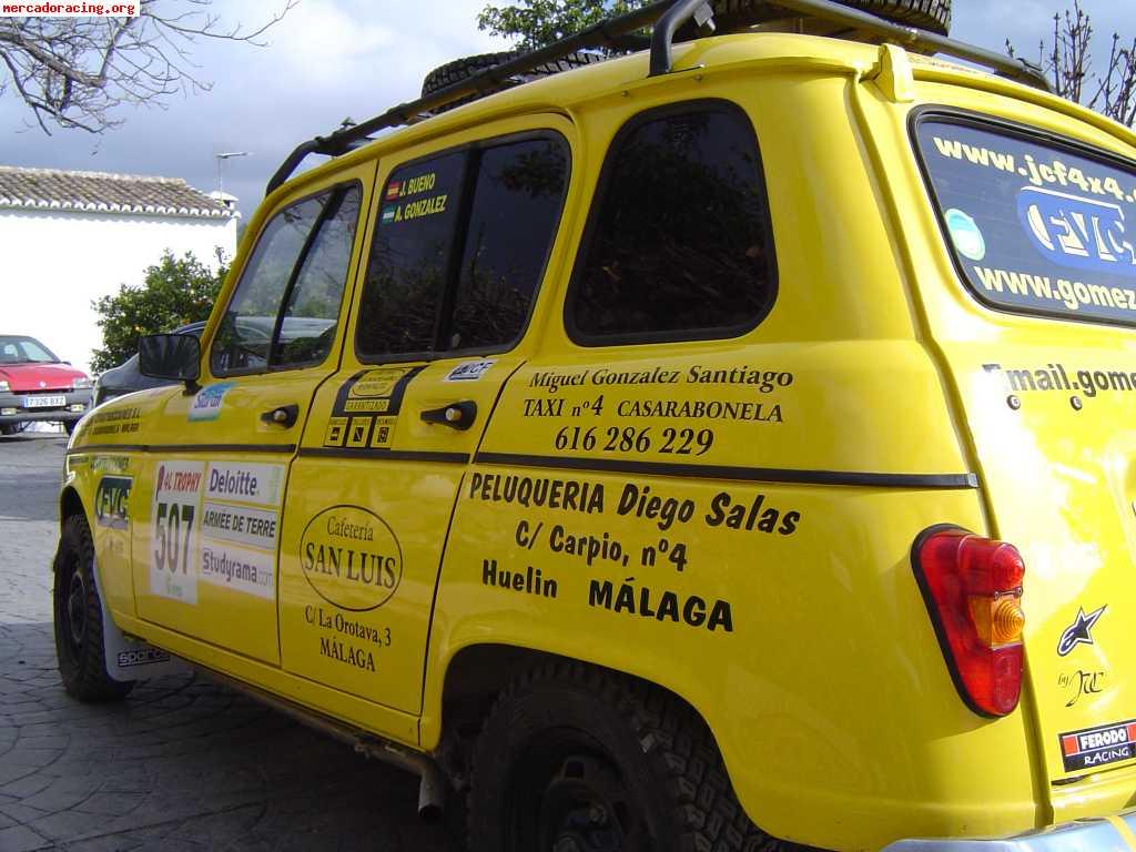 Re: Projekto Renault 4 Dakar