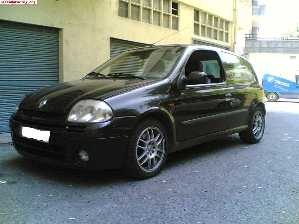 vendo clio sport 172cv a o 2001 venta de coches de competici n renault. Black Bedroom Furniture Sets. Home Design Ideas