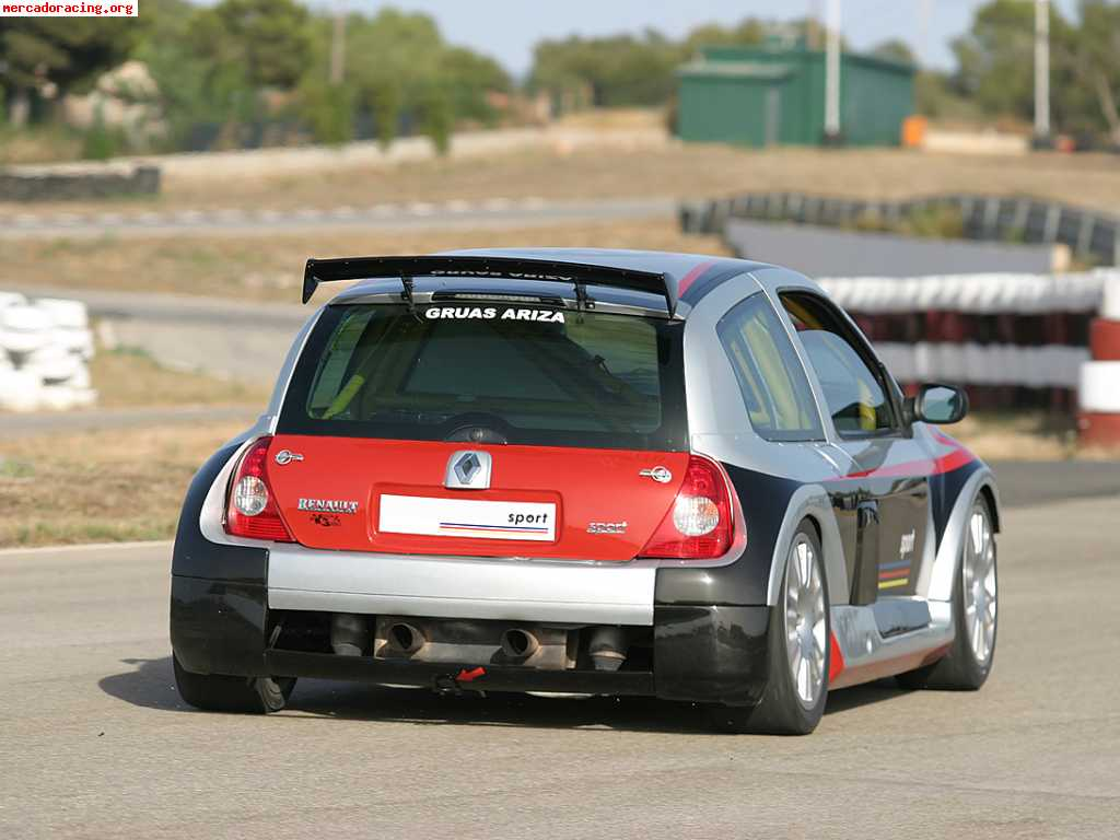 renault clio v6 rs trophy cup fase ii 330cv