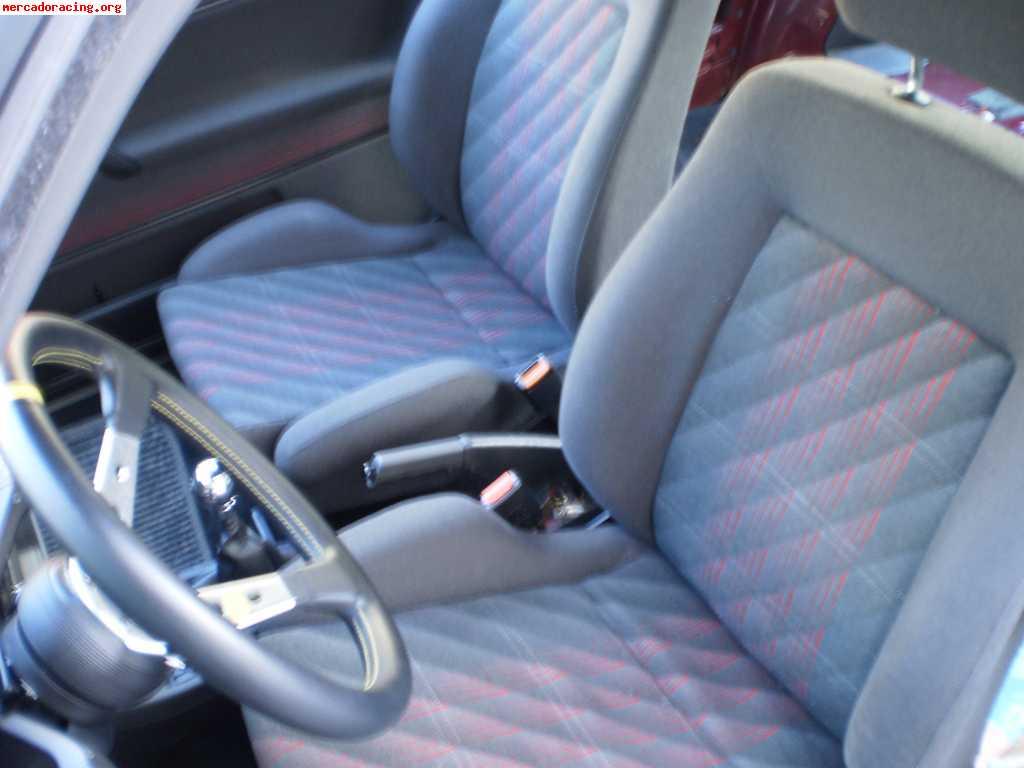 Vendo asientos e interior golf gti mk2