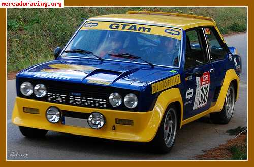 Fiat 131 racing venta de coches de competici n del resto for Mercado racing clasicos