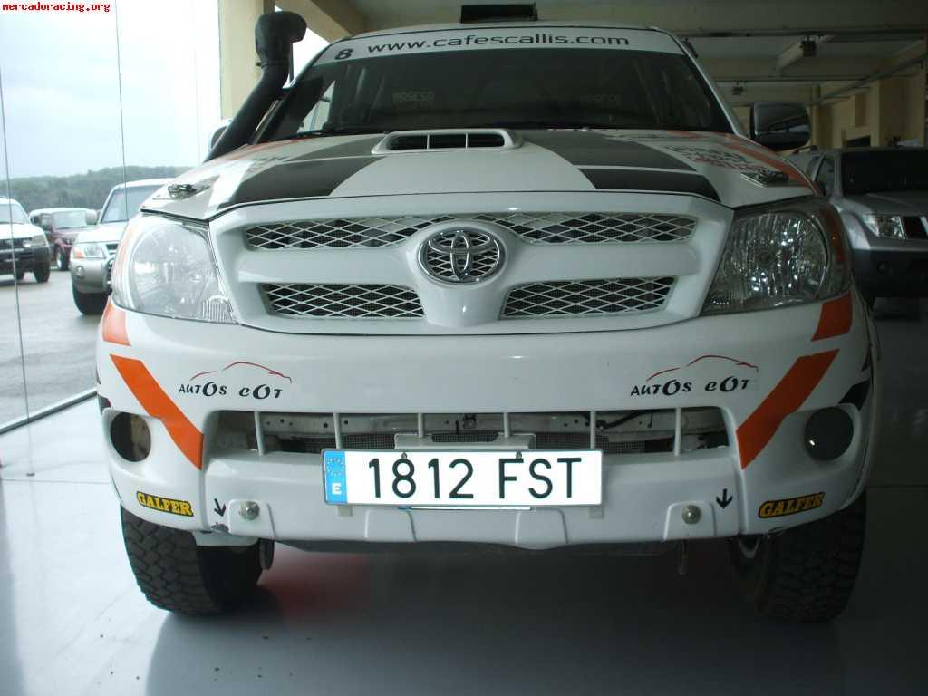 Toyota Hilux De Carreras