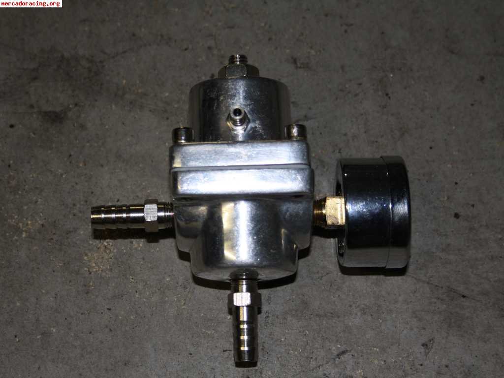Regulador manometro de presion de gasolina universal a - Regulador de presion ...