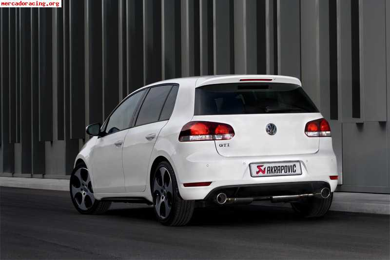 escape akrapovic golf gti vi salida carbono filtro aire bm. Black Bedroom Furniture Sets. Home Design Ideas