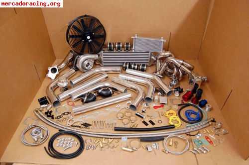 Kit turbo universal gasolina