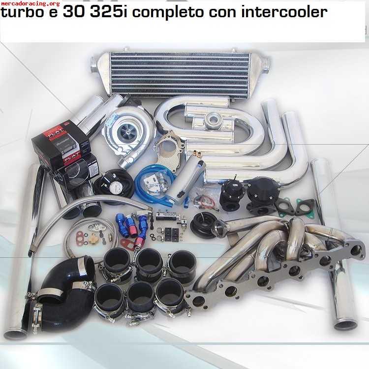 Kit Turbos Completos Para Todos Los Bmw E30 Gasolina Y E36 P