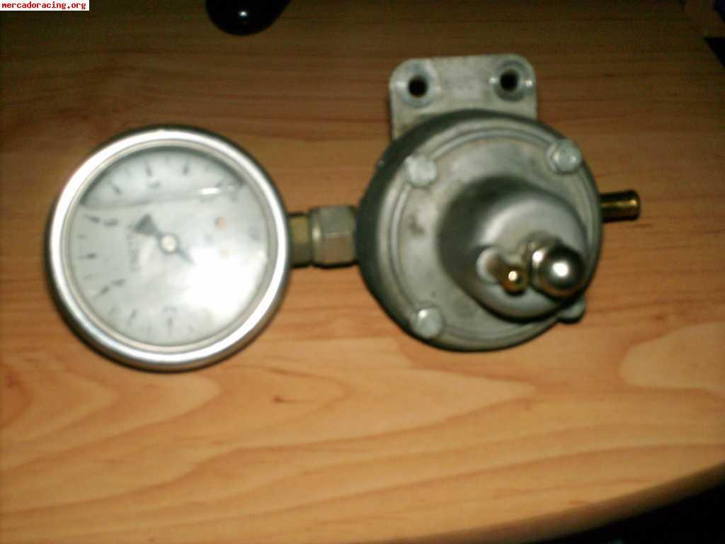 Regulador de presion de gasolina con manometro de presion - Regulador de presion ...
