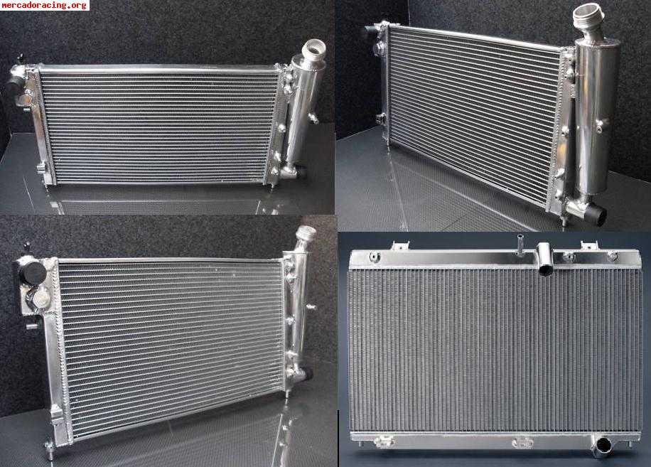 Radiador de aluminio racing rally varios venta de - Precio de radiadores de aluminio ...