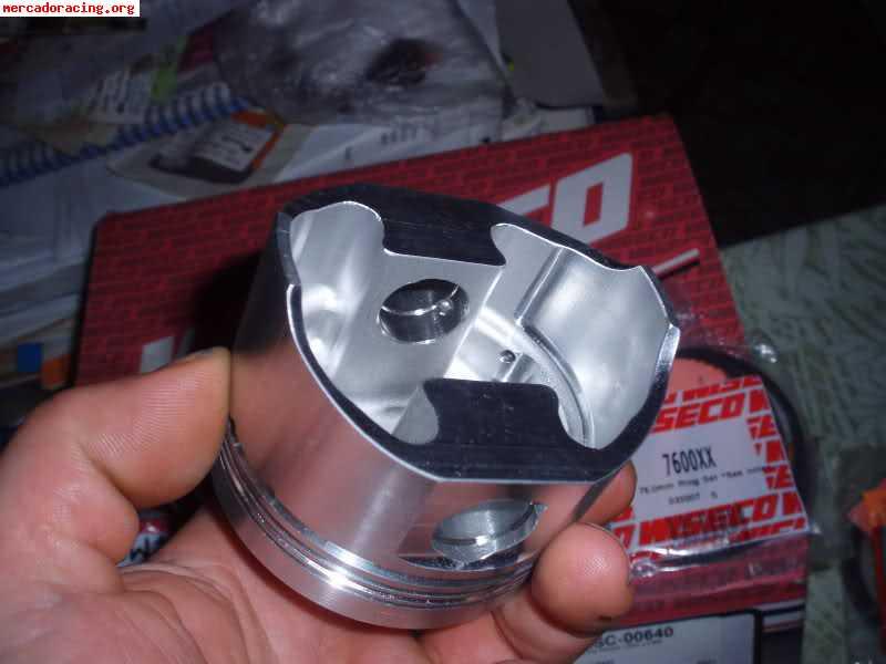 Pistones Forjados Wiseco A 76mm Para Motor 1 4 Tu3 Y Bielas