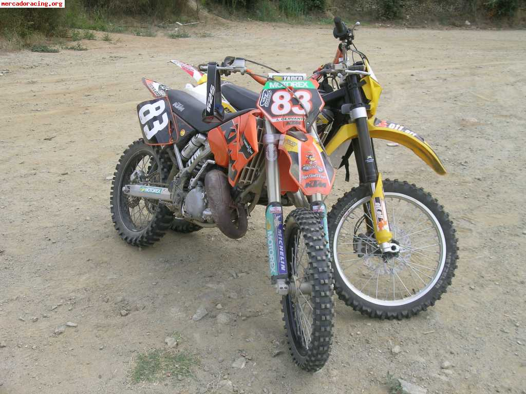 vendo gas gas ec 125 a o 2005 venta de motos de carretera enduro o cross. Black Bedroom Furniture Sets. Home Design Ideas