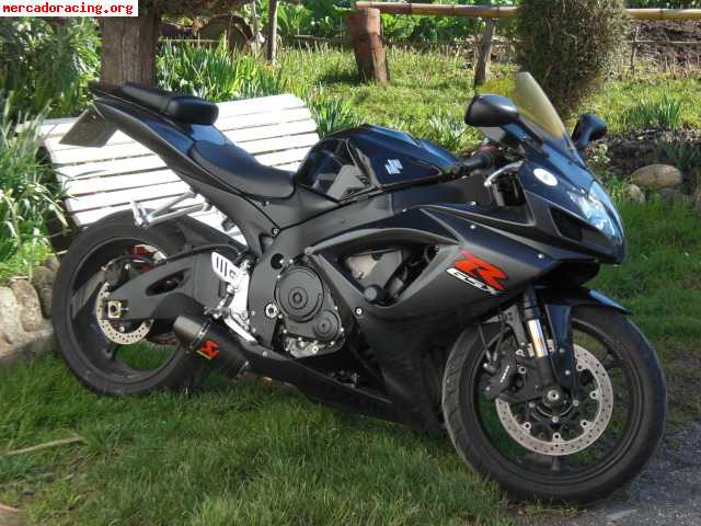 suzuki gsx r 750 del 2007. Black Bedroom Furniture Sets. Home Design Ideas