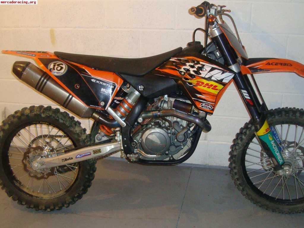 Vendo ktm 450 sxf acrapovic - Image de moto cross ktm ...