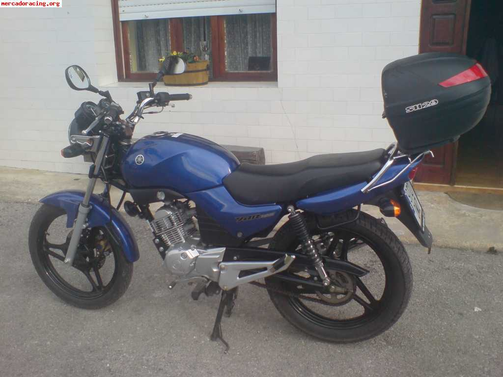 vendo moto yamaha ybr 125 venta de motos de carretera enduro o cross. Black Bedroom Furniture Sets. Home Design Ideas