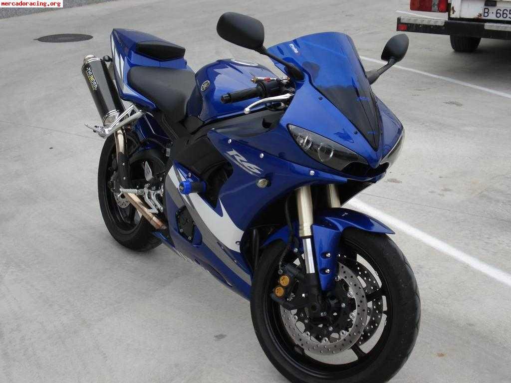 Yamaha R6 2005 Impecable