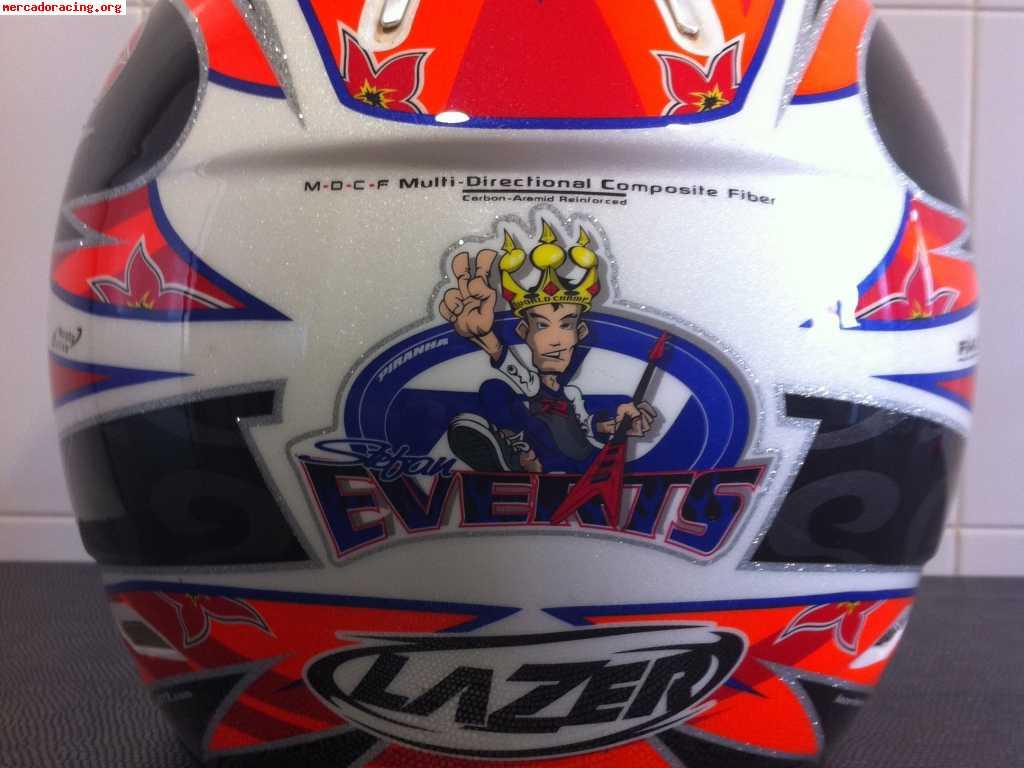 Casco Lazer Stefan Everts Edition