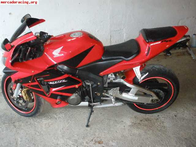 se vende honda cbr rr600 venta de motos de carretera enduro o cross. Black Bedroom Furniture Sets. Home Design Ideas