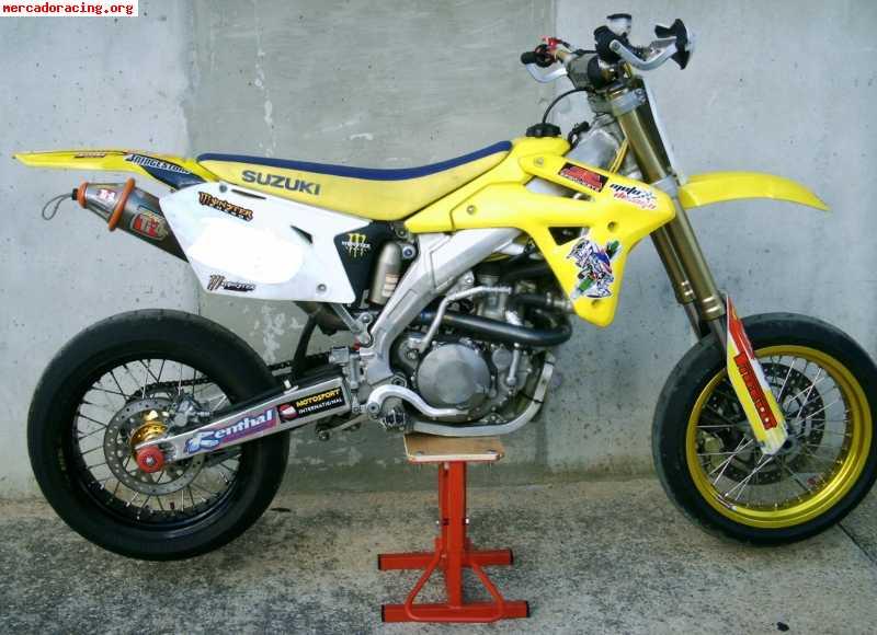 cambio supermotard suzuki rm z 450cc 2008 por moto dep venta de motos de carretera. Black Bedroom Furniture Sets. Home Design Ideas