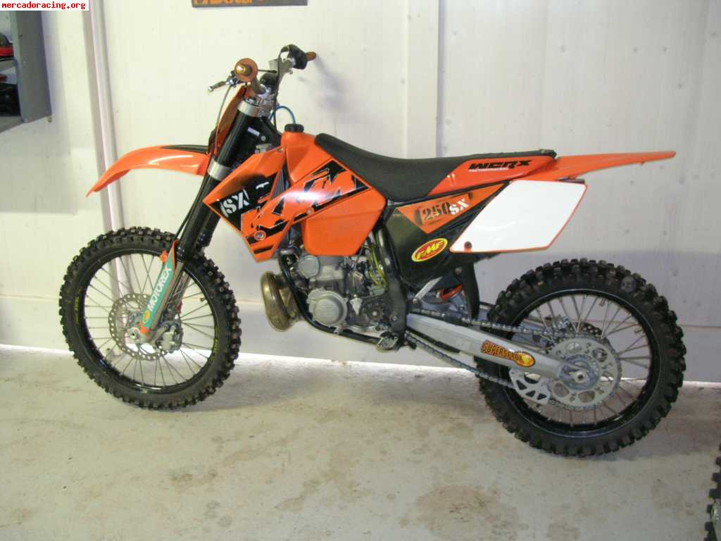 vendo ktm sx 250 a o 2007 en la rioja venta de motos de carretera enduro o cross. Black Bedroom Furniture Sets. Home Design Ideas
