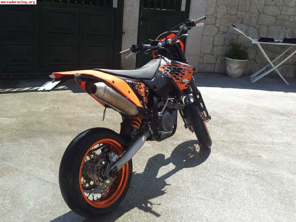 vendo o cambio ktm exc 530r supermotard. Black Bedroom Furniture Sets. Home Design Ideas