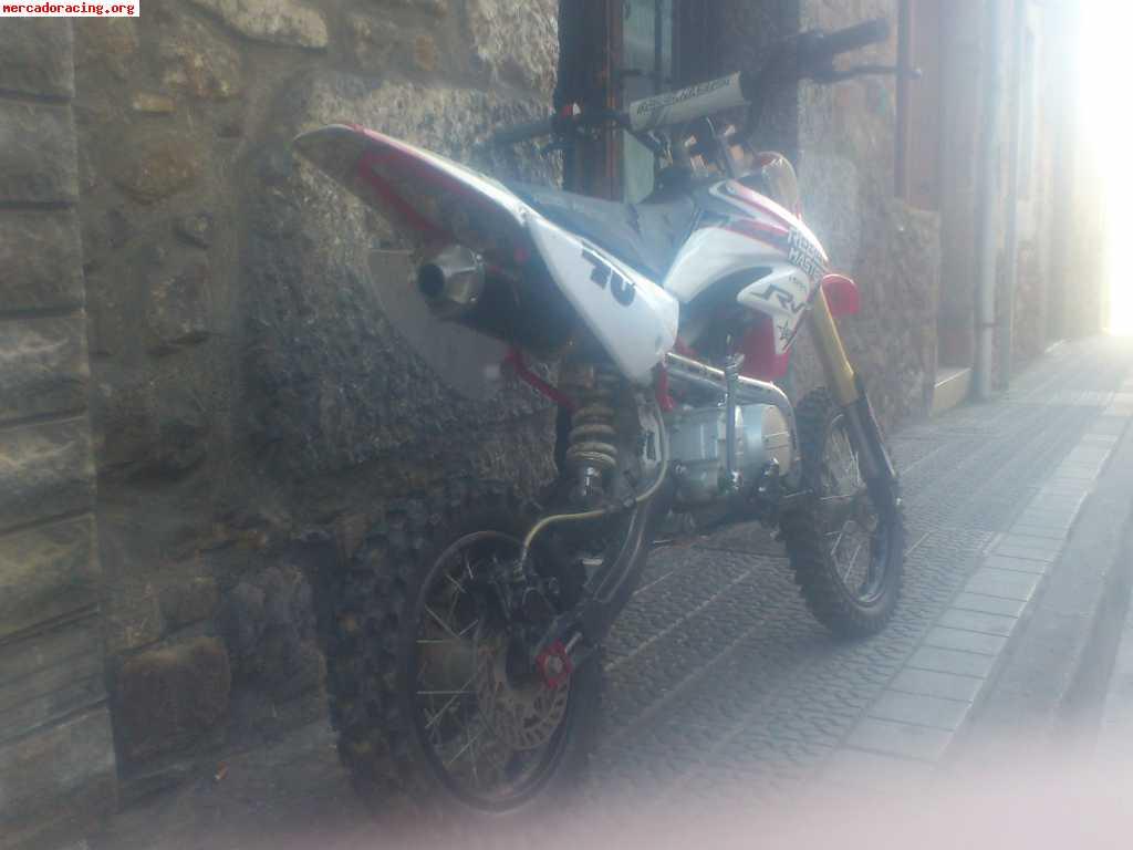 Vendo pit bike rebel master rv 1254t for Garage peugeot revel