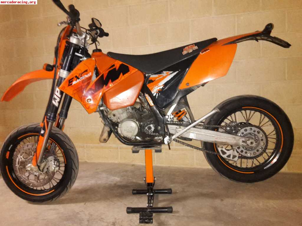 vendo ktm exc 125 supermotard. Black Bedroom Furniture Sets. Home Design Ideas