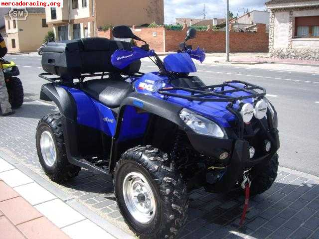 quad kymco mxu 500 venta de quads y buggys. Black Bedroom Furniture Sets. Home Design Ideas