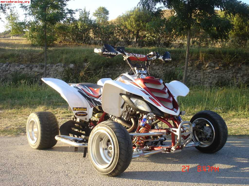 se vende quad yamaha raptor 660 yfm. Black Bedroom Furniture Sets. Home Design Ideas