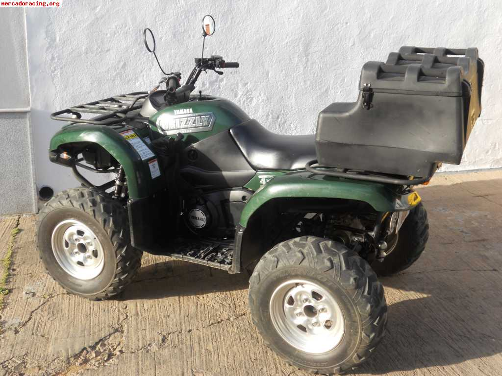 Quad atv yamaha grizzly 660 venta de quads y buggys for Yamaha grizzly atv