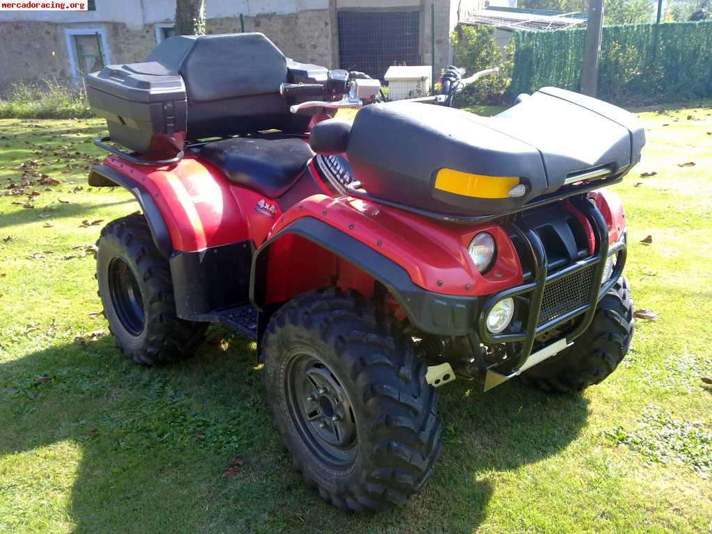 quad atv yamaha kodiak 400cc 4x4 4000euros venta de quads y buggys. Black Bedroom Furniture Sets. Home Design Ideas