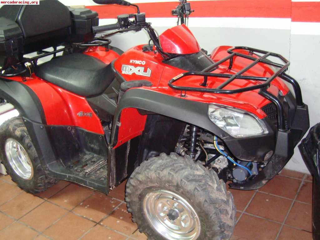 kymco mxu 500 4x4 venta de quads y buggys. Black Bedroom Furniture Sets. Home Design Ideas