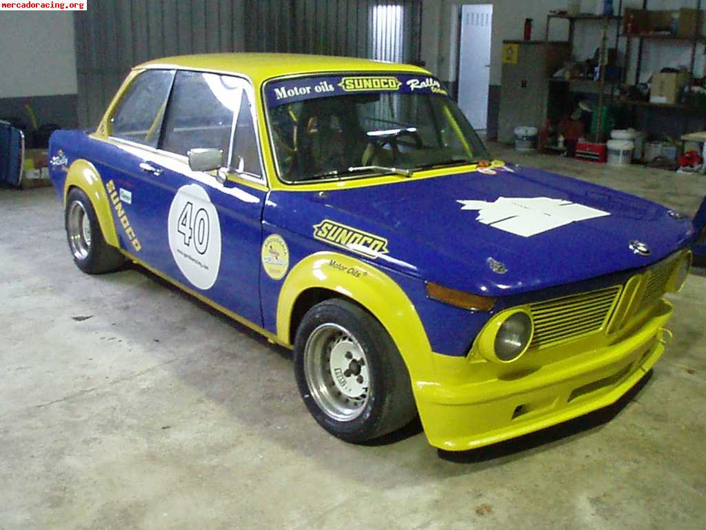 Vendo bmw 2002ti especial carreras clasicos venta de for Mercado racing clasicos