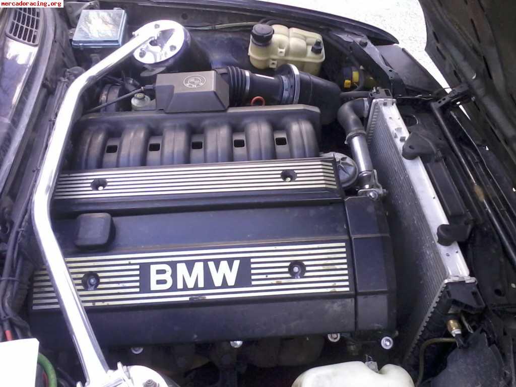 Bmw e30 con swap m50 remolque