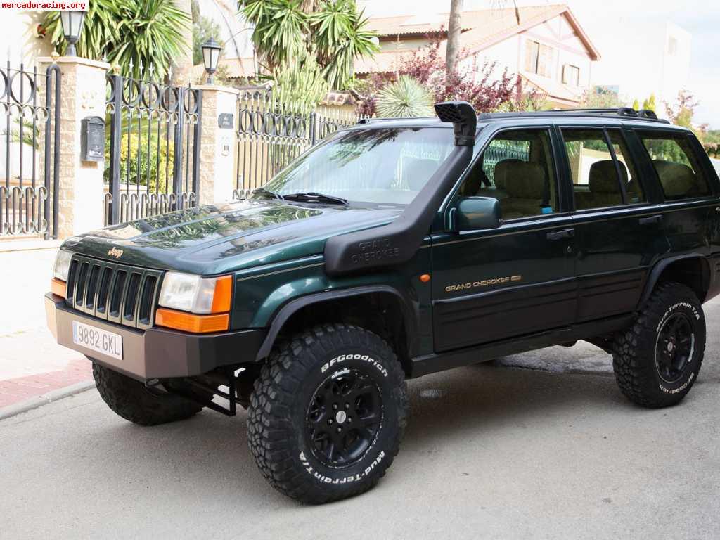vendo jeep grand cherokee 5 2 v8 limited muy preparado acep venta de todoterreno y 4x4. Black Bedroom Furniture Sets. Home Design Ideas