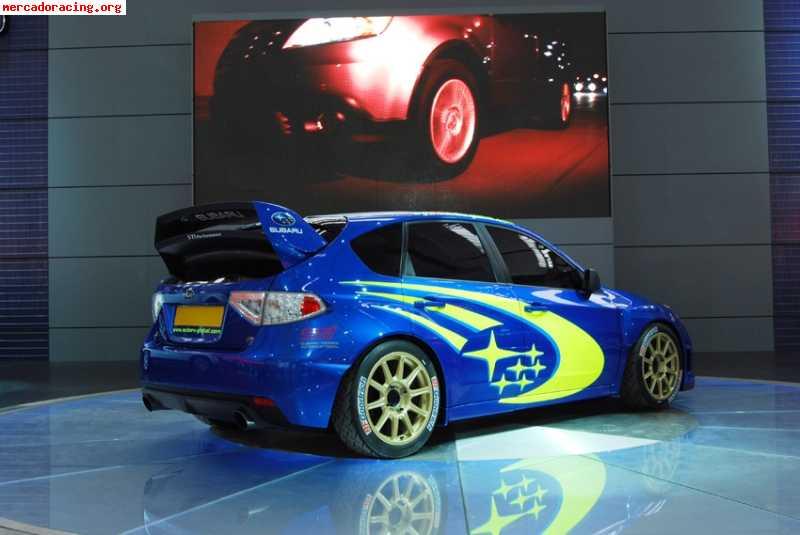 2007 Subaru Impreza Wrx >> Aleron subaru impreza wrc 08 09
